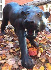 Ultra RARE Benson Animal Farm? Papier Mâché Panther Statue - Hudson NH Estate