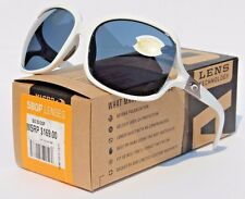 COSTA DEL MAR Boga 580 POLARIZED Womens Sunglasses White/Gray 580P NEW