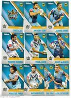 2017 NRL Traders Gold Coast TITANS Team Set