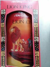 Disney Lion King 1994 Collector Series Burger King Glass Nrfb New