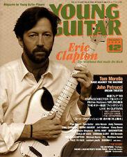 Young Guitar Dec/99 Eric Clapton Andy Timmons Tom Keifer John Norum Crue Leppard