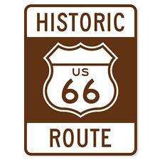"""Historic US Route 66 car bumper sticker 5"""" x 4"""""""