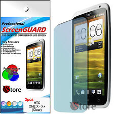 3 Film For HTC ONE X Protector Save Screen LCD Display Films