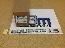 2005-2010 Chevrolet Equinox LS Rear Liftgate NAMEPLATE Emblem new OEM 25795262