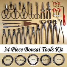 Brand New 34 Pieces Bonsai Tools Kit