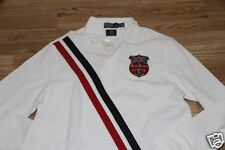 Ralph Lauren Team Olympic Great britain Flag Cotton Rugby Shirt  L Custom Fit