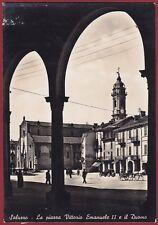 CUNEO SALUZZO 37 Cartolina FOTOGRAFICA viaggiata 1941