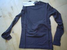 WI 11/12 - Camiseta básica, Marrón Gris V. García T. gr.164-176
