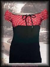 Damenblusen,-Tops & -Shirts mit Carmen und Baumwollmischung für Party