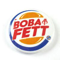 Star Wars Novelty - Button Badge - 25mm 1 inch - Boba Fett - Jabba the Hutt