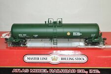HO scale Atlas 20,700 gallon tank car train British Columbia Ry Canada BC Rail