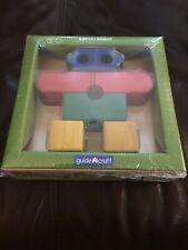 New Guidecraft Primary Robot Wood Puzzle-G2019