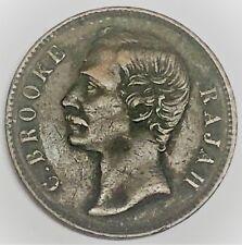 # C867     SARAWAK     COIN,     ONE  CENT   1890-H