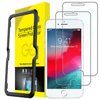 JETech Screen Protector for iPhone 8/7/6s/6 Plus 5.5-Inch Tempered Glass 2-Pack
