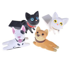 Creative Dog Cat Door Stopper Holder PVC Safety Baby Figure Toys Home Decor LH