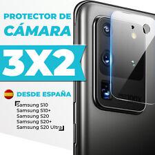 Protector Cámara Samsung Galaxy S10/Plus/S20/Plus/Ultra Soft Fiber 3x2