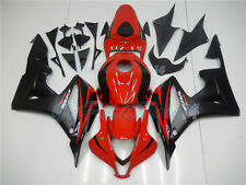 Fit for Honda CBR600RR 2007-2008 Injection Fairing ABS Red Black Plastic  mD9