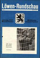 BL 77/78 TSV 1860 München - Eintracht Frankfurt, 17.09.1977, Bernhard Hartmann