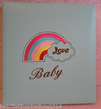 Baby Boy, Newborn ,Baby Shower, Gift - Blue Deluxe Large Photo Album