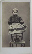 Garçon Carte de visite Cdv France Photo n°P Vintage Albumine c1860