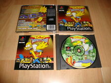 THE SIMPSONS WRESTLING DE FOX INTERACTIVE PARA LA SONY PS1 USADO COMPLETO