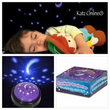 Kids Starlight Projector Baby Room Autism Sensory Star Moon Night Sky Light Toy