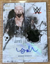 2018 Topps WWE Undisputed Luke Gallows Auto Relic Card #'d 48/99!!