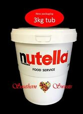 NUTELLA 3KG JAR NUTELLA TUB 3KG CHRISTMAS BIRTHDAY XMAS GIFT IDEA MADE IN ITALY