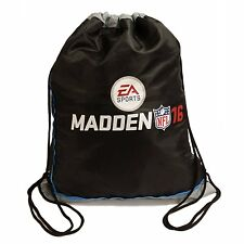 * NEW * Madden NFL 16 2016 Cinch Sack Xbox PS3 PS4 GREAT GIFT Mini Backpack Bag