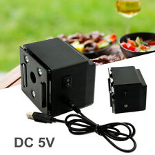DC 5V USB BBQ Spit Roast Rotisserie Motor Outdoor Barbecue Tool   D3