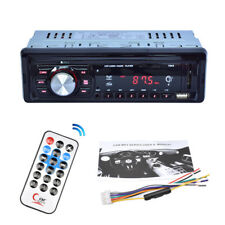 Car 1 DIN Digital Stereo Media Player MP3 FM Radio AUX SD MMC USB LED display