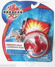 Bakugan FOXBAT Battle Brawlers Red CLEAR Transparent NEW SEALED Ball Toy 2009