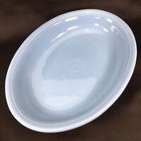"Homer Laughlin Fiesta PERIWINKLE BLUE  Oval Serving Platter Bowl 12 3/8"" X 9 1/8"
