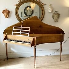 More details for john morley 5 octave spinet walnt c 1967.no. 1439.beautiful playing condition