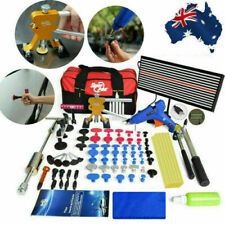 PDR Tools Auto Dent Puller Lifter Paintless Hail Removal Line Board Glue Gun Kit