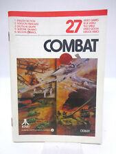 Anleitung - Handbuch - Bedienungsanleitung Atari - Combat