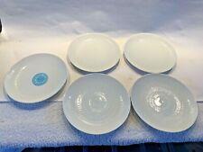 "5 Rosenthal Romance 5-7/8"" Bread Plates White Wiinblad MARTHA STEWART Pedigree"
