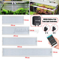 30/45/60/90cm WRGB Chihiro Fish Tank Lamp+1-Way/4-Way bluetooth Controller  T