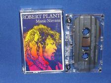 ROBERT PLANT MANIC NIRVANA - AUSTRALIAN CASSETTE TAPE