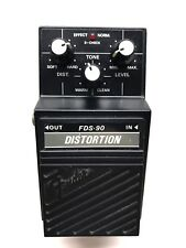 Fender FDS-90, (Maxon SD-1), Distortion, Made In Japan, 1980's, Guitar Effect Pe
