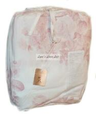 RACHEL ASHWELL COUTURE Shadow Rose Pink FULL/ QUEEN DUVET Shabby Chic NEW$308