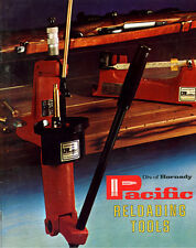 Pacific Reloading Tools Catalogue
