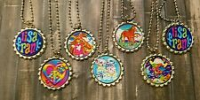 7 Lisa Frank~inspired Bottle Cap Necklaces Party Favors Gifts
