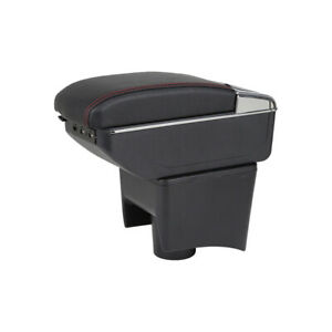 Storage Box Fit For VW Polo Mk5 / Vento 2010-2017 Rotatable Armrest Arm Rest mt