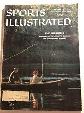 1958 Sports Illustrated FLY Fish MIRAMICHI New Brunswick CANADA Atlantic Salmon