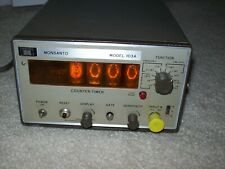 Monsanto Model 103a Nixie Tube Counter Timer Powers Up