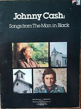 Vintage Johnny Cash songs From The Man In Black Guitar Vocal Tab Music Book