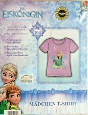 Frozen Mädchen  T-Shirt * 98/104 * Flieder * Eiskönigin * Motiv * Neu * OVP