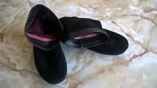 Suede Pull On Formal Shoes for Women