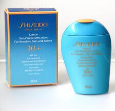 Shiseido Gentle Sun Protection Lotion Sensitive Skin & Babies Spf 30+ 100 mL New